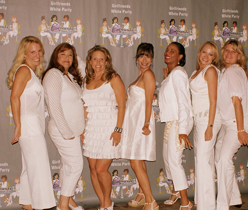 Girlfriends All White Party Red Rock Country Club